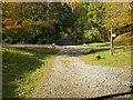 NY3606 : Footpaths through Rydal Park by Alexander P Kapp