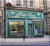 SE1633 : Fille Inns - Kirkgate by Betty Longbottom