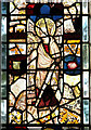 TG0627 : St Peter's church - medieval glass by Evelyn Simak