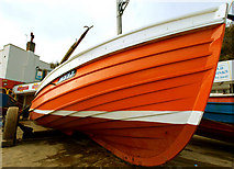 TA1280 : Coble on the Cobbles by Andy Beecroft
