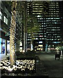TQ2982 : South side of Triton Square, evening by Robin Stott
