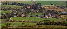 NY9393 : Elsdon Village by Peter McDermott