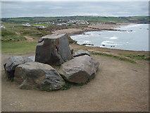 SS1903 : Rocks on Lower Longbeak by Philip Halling