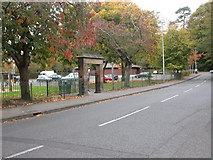 SJ8481 : Wilmslow, gate by Mike Faherty