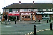 SJ8485 : Shops on Finney Lane, facing Neal Avenue by Geoff Royle