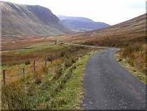 NS7403 : Road down the Scaur Water Glen by Oliver Dixon