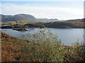 SH6744 : Tanygrisiau reservoir by John Firth