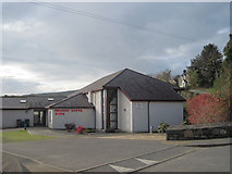 SH2332 : Village Hall Sarn by John Firth