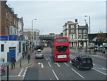 TQ2876 : Battersea Park Road/Queenstown Road junction. by Colin Pyle