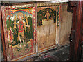 TF8722 : St Andrew's church - rood screen panels (south) by Evelyn Simak