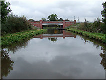 SK0419 : Trent and Mersey Canal near Rugeley, Staffordshire by Roger  Kidd
