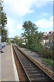 SW8132 : Falmouth Town Station looking east by SMJ