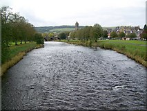 NT2540 : River Tweed from Priorsford Bridge by Maigheach-gheal