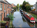 SK0418 : Trent and Mersey Canal in Rugeley, Staffordshire by Roger  Kidd