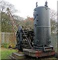 SD7606 : Steam Crane by Peter Worrell