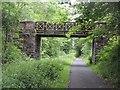 NS3965 : Bridge of Weir Railway by Richard Webb