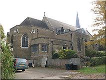 TQ2274 : St Margaret's church, Putney: north end by Stephen Craven