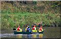 J3268 : Canoeing on the Lagan, Belfast by Albert Bridge