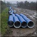 TA1533 : Water pipes, Bilton by Paul Harrop