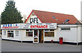 TL0898 : Multilingual welcome to the Stibbington Diner transport cafe by Andy F