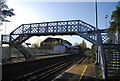 TQ6850 : Bridge at Yalding Station by N Chadwick