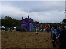 SJ2742 : Funfair at Trevor Basin by Eirian Evans
