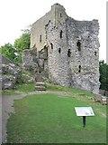 SK1482 : Peveril Castle Keep by John Proctor