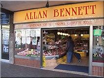 SJ9400 : Allan Bennett Butchers - Purveyors of prime quality meat by John M