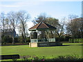 NZ3264 : Bandstand West Park, Jarrow by Les Hull