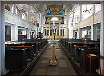 TQ2880 : Grosvenor Chapel, South Audley Street, Mayfair - East end by John Salmon