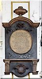 TQ2880 : Grosvenor Chapel, South Audley Street, Mayfair - Wall monument by John Salmon