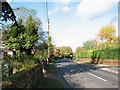 TM1083 : View north along the B1077 (Church Road) by Evelyn Simak