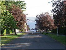 NS2982 : Obelisk to the memory of Henry Bell, waterfront, Helensburgh by Anthony O'Neil