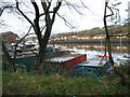 NZ2763 : Boatyard and River Tyne at Friars Goose by Les Hull