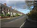 NZ3264 : Bede Burn Road, Jarrow by Les Hull