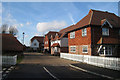 TQ8538 : New Houses off Main Road by Oast House Archive