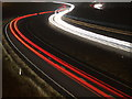 SP6845 : A43 Southbound at night by Oliver Hunter