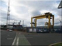 NS2776 : Ocean Terminal, Greenock by Richard Webb
