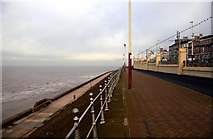 SD3036 : The Lower Promenade in Blackpool by Steve Daniels