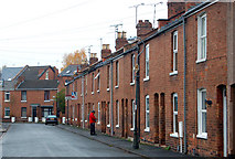 SP3265 : Terraced houses in Rushmore Street, Leamington Spa by Andy F
