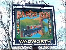 ST9361 : Sign for the Barge Inn by Maigheach-gheal