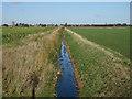 TF4603 : Ditch towards Friday Bridge by Hugh Venables