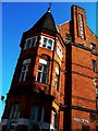 TQ2775 : Battersea Library at the junction of Lavender Hill and Lavender Walk by tristan forward