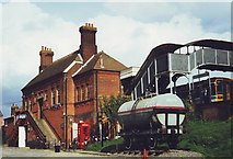 TL8928 : Chappel and Wakes Colne Railway, Essex by nick macneill