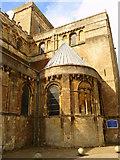 SU3521 : Romsey - Romsey Abbey by Chris Talbot