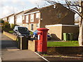 SY9991 : Hamworthy: postbox № BH15 8, Dawkins Road by Chris Downer