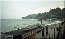 SX9777 : Dawlish beach from the railway by John Rostron