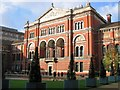 """TQ2679 : The Northern side of the Courtyard at the """"V & A"""" by Chris Reynolds"""