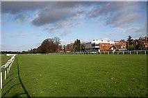 SO8455 : Worcester Racecourse by Bob Embleton