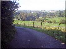SK4763 : Lane to Dovedale Farm by Trevor Rickard